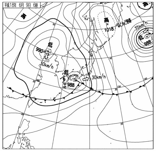 気象庁 - 天気図