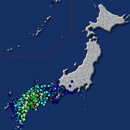 【震度5弱】大分地震【6月12日】