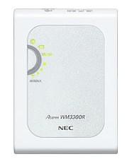 無線LAN内蔵モバイルWiMAXルーター Aterm WM3300R