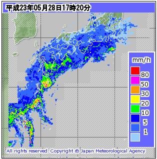 気象庁 | レーダー