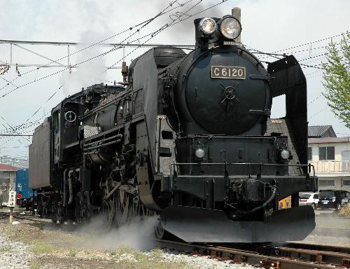 蒸気機関車、C61 20