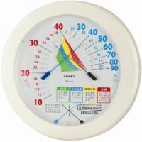 エンペックス、環境管理 温湿度計「熱中症注意」