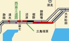 2011年8月11日、11時頃の高速道路状況(2011/08/11)